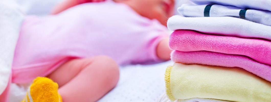 Babykleding wassen