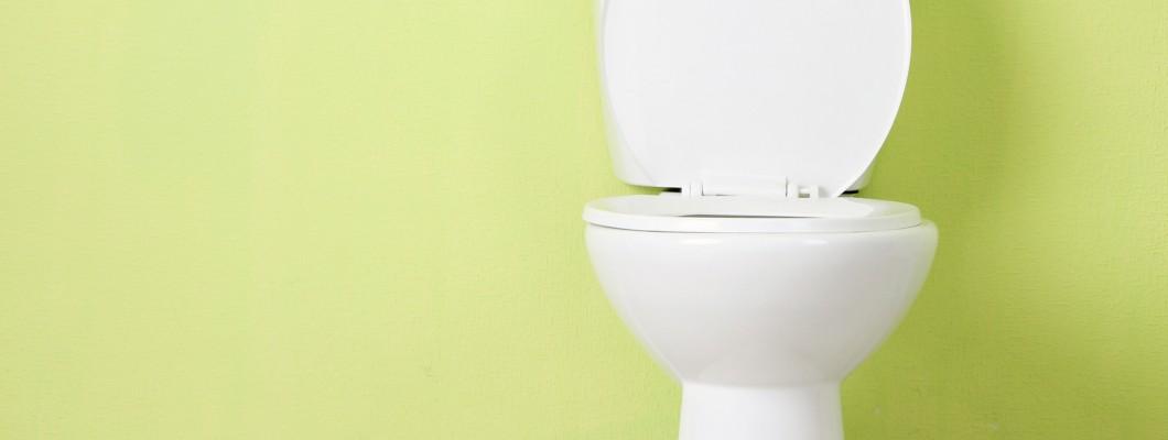 Lekker fris op het toilet