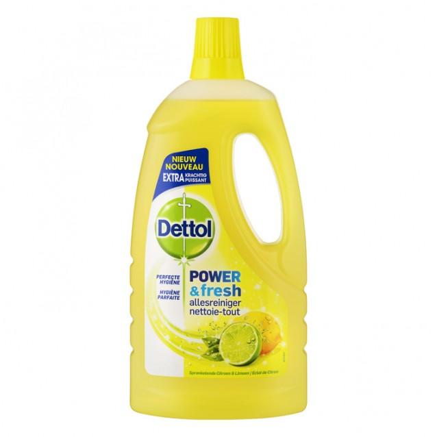 Dettol Allesreiniger Citroen en Limoen  1.5 Liter
