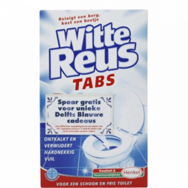 Witte Reus Ontkalkings Tabs