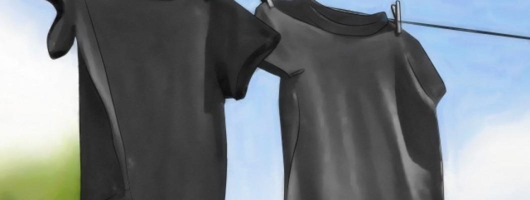 Zwarte kleding wassen